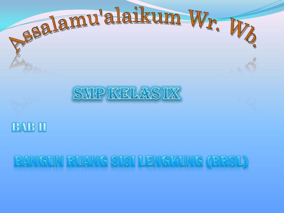 SMP KELAS IX Assalamu alaikum Wr. Wb.