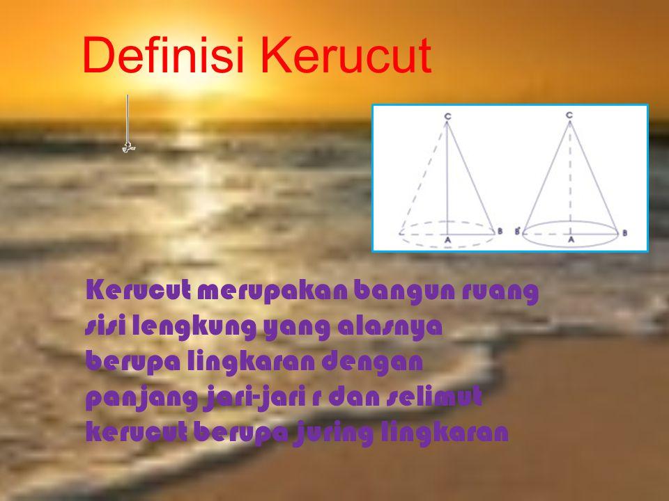 Definisi Kerucut