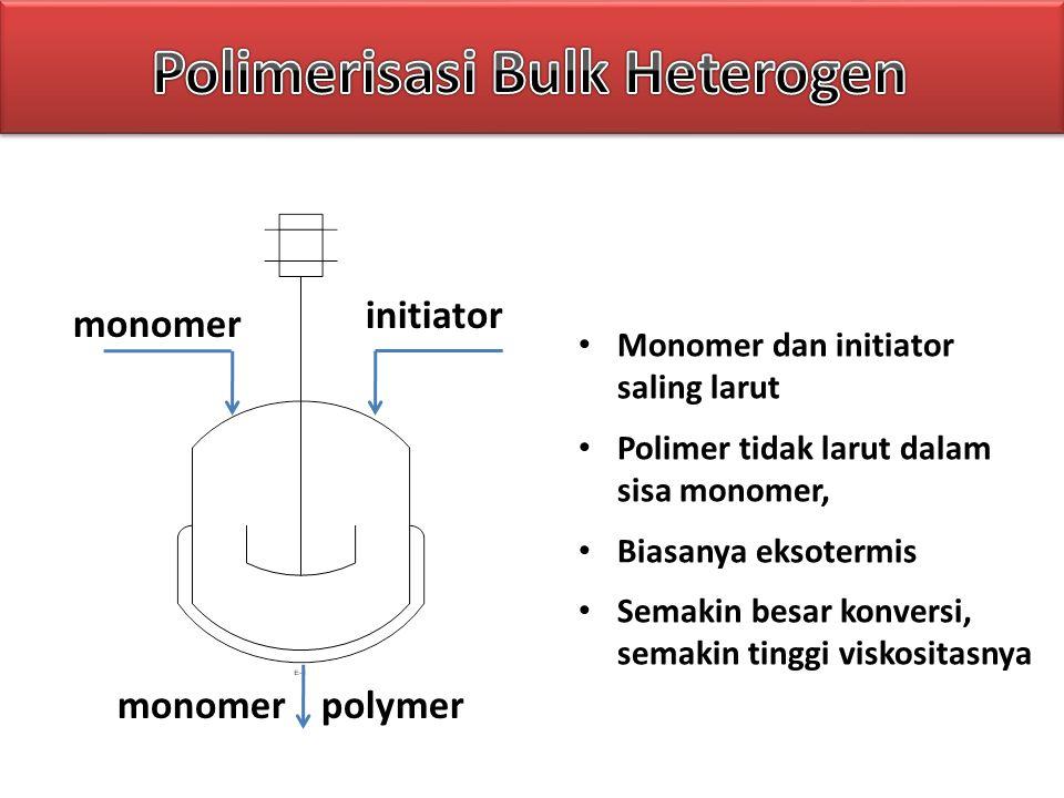 Polimerisasi Bulk Heterogen