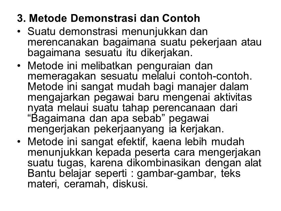 3. Metode Demonstrasi dan Contoh