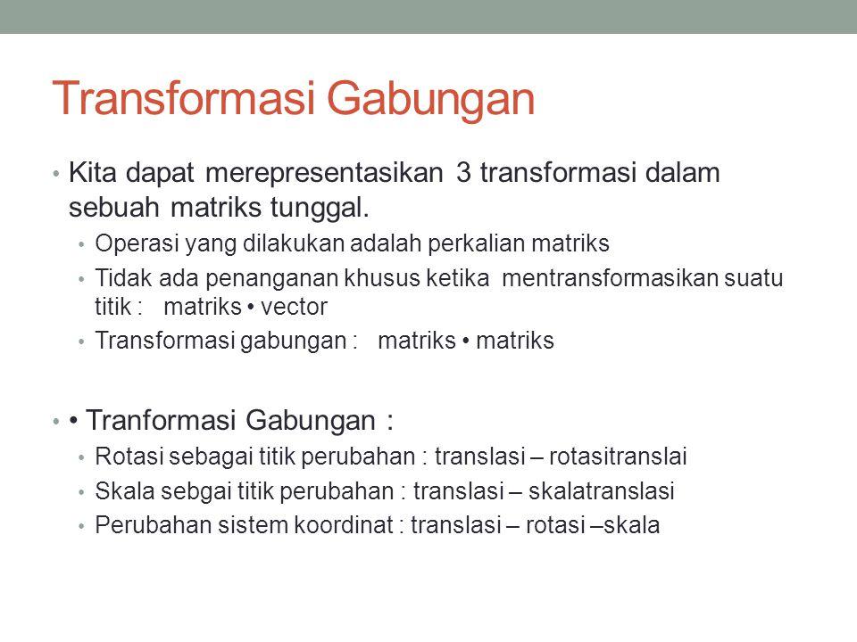 Transformasi Gabungan