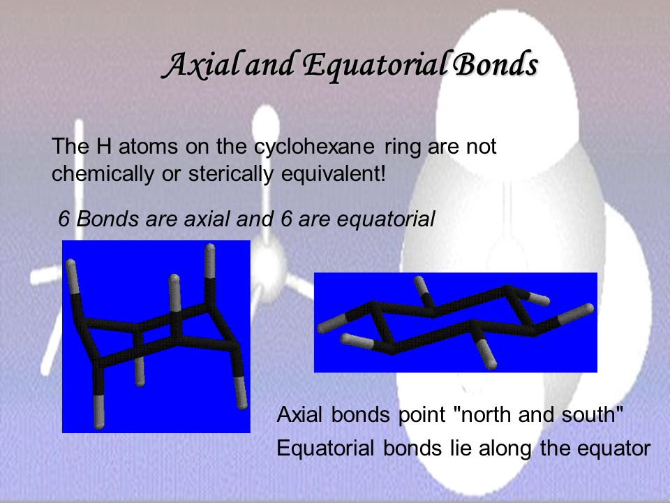 Axial and Equatorial Bonds
