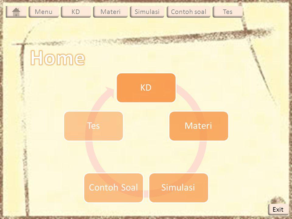 Home KD Materi Simulasi Contoh Soal Tes Menu KD Materi Simulasi