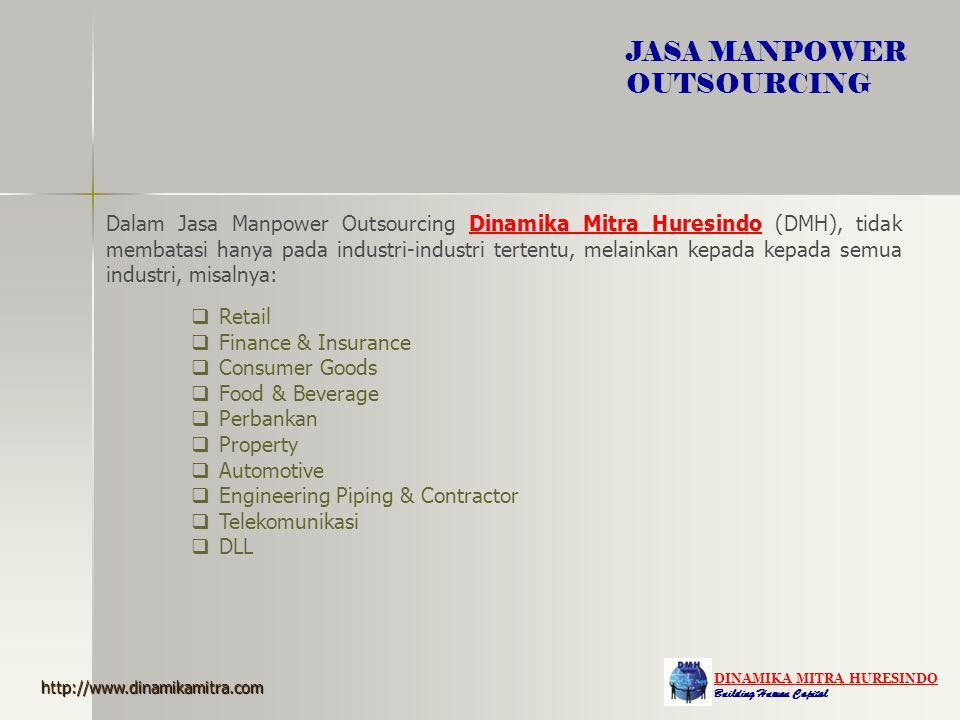 JASA MANPOWER OUTSOURCING