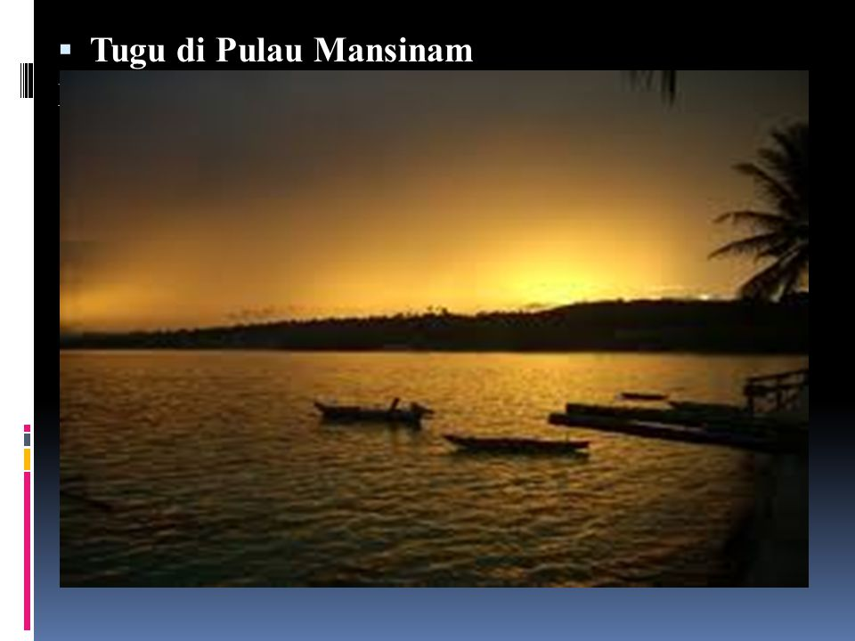 Tugu di Pulau Mansinam