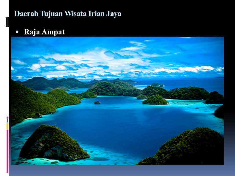 Daerah Tujuan Wisata Irian Jaya