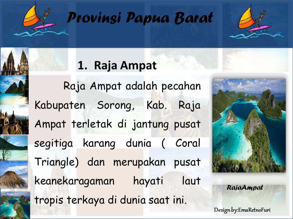 Provinsi Papua Barat Raja Ampat
