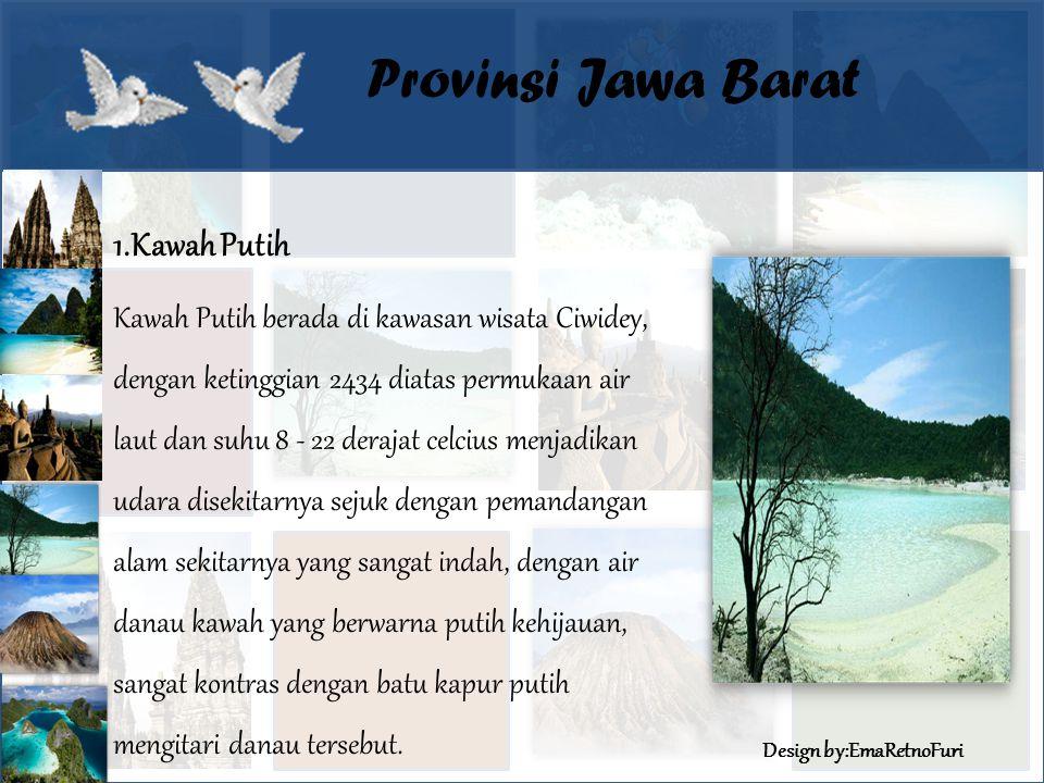 Provinsi Jawa Barat 1.Kawah Putih