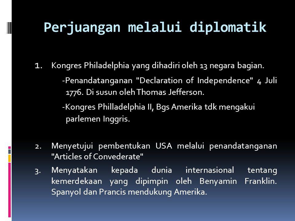 Perjuangan melalui diplomatik