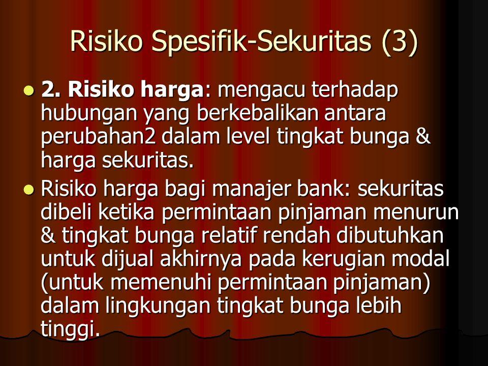 Risiko Spesifik-Sekuritas (3)
