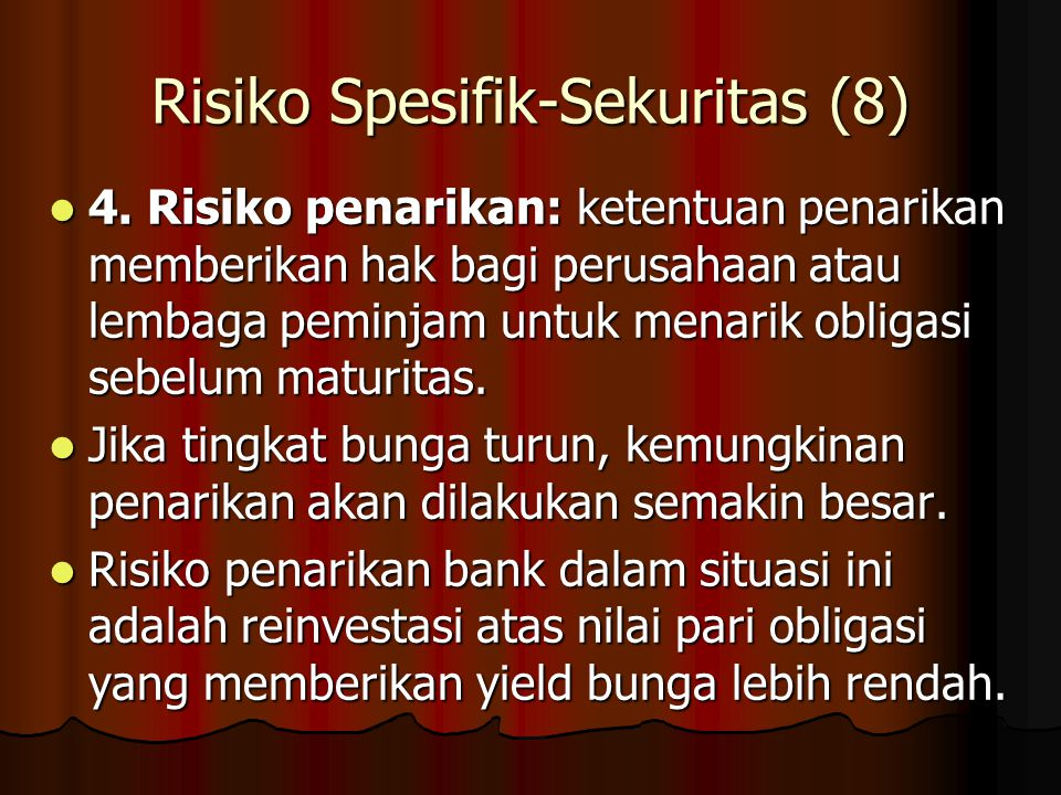 Risiko Spesifik-Sekuritas (8)