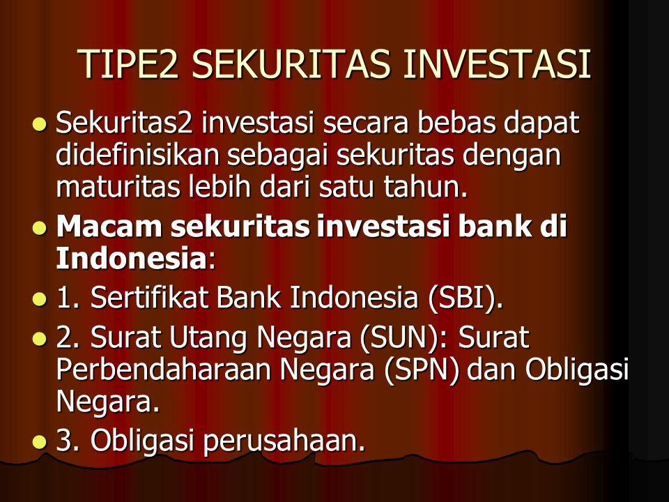 TIPE2 SEKURITAS INVESTASI