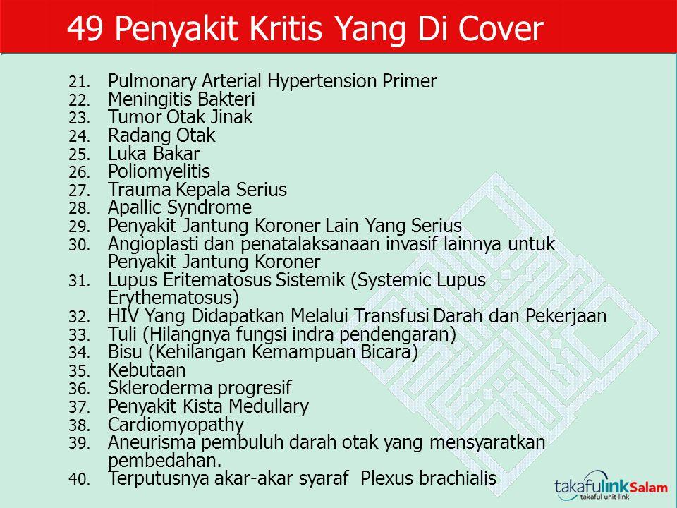 49 Penyakit Kritis Yang Di Cover