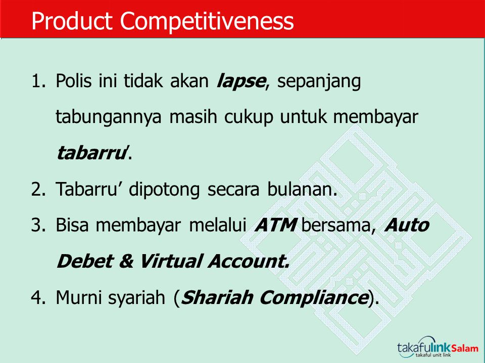 Product Competitiveness