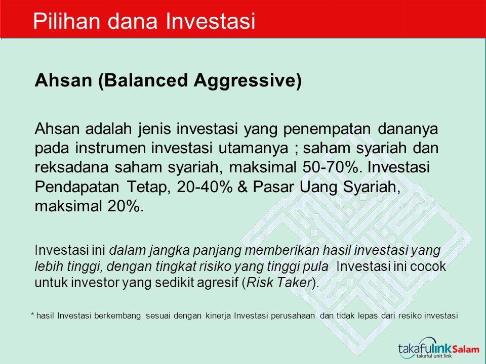 Pilihan dana Investasi