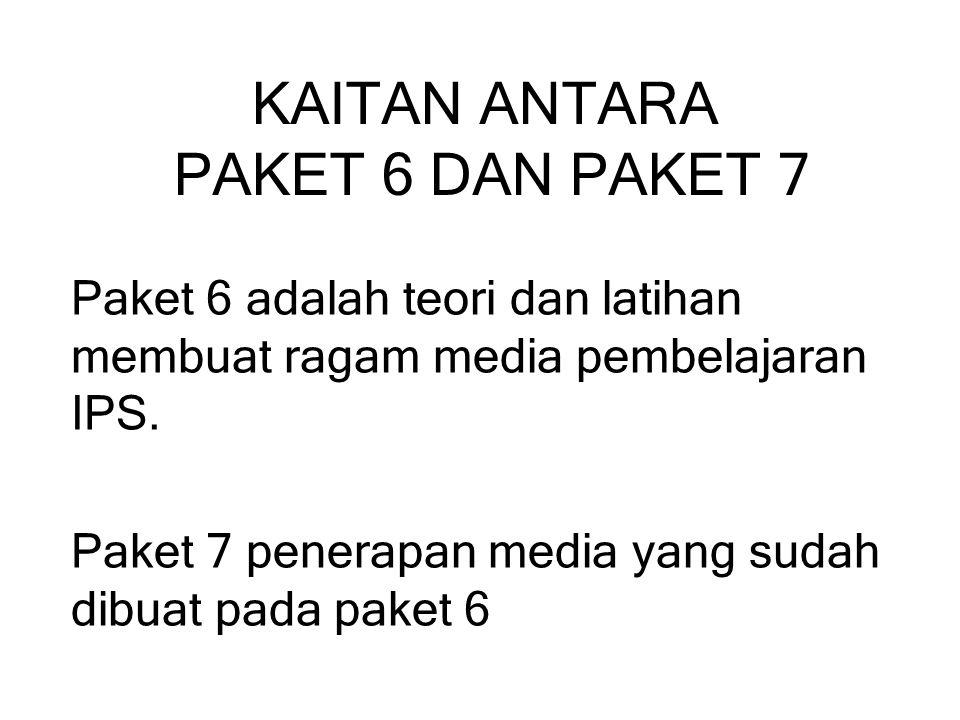 KAITAN ANTARA PAKET 6 DAN PAKET 7