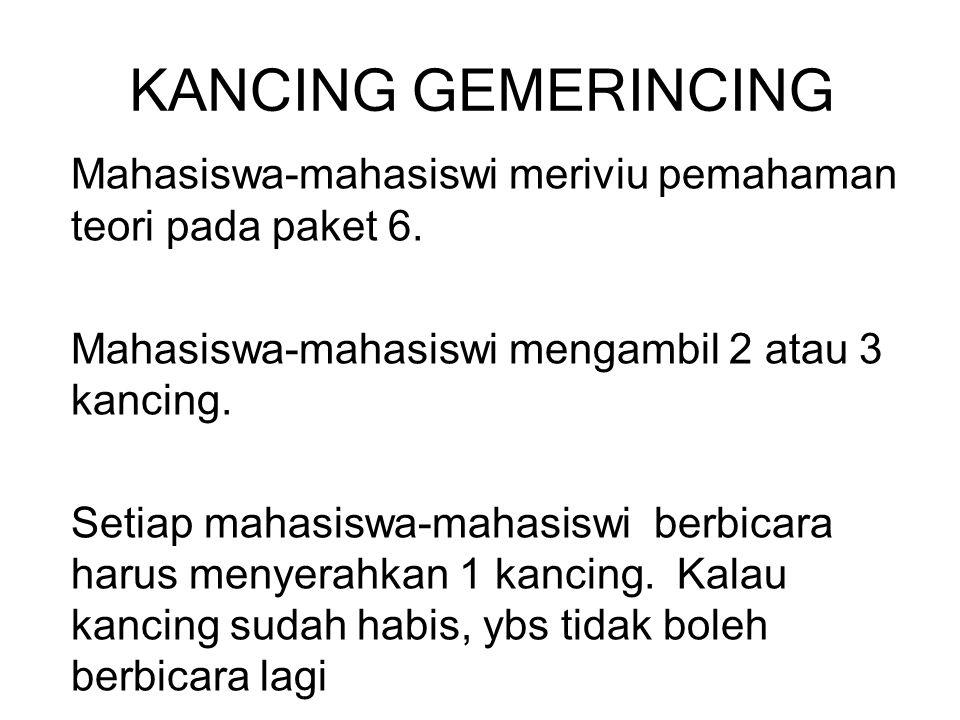KANCING GEMERINCING