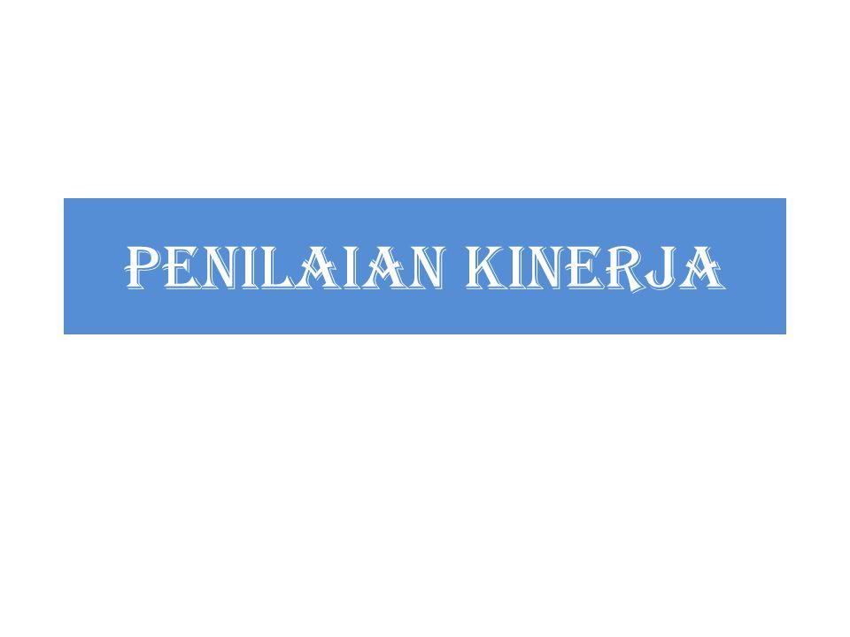 PENILAIAN KINERJA