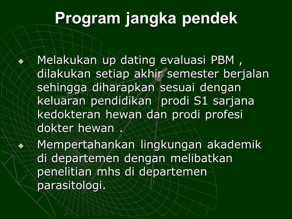 Program jangka pendek