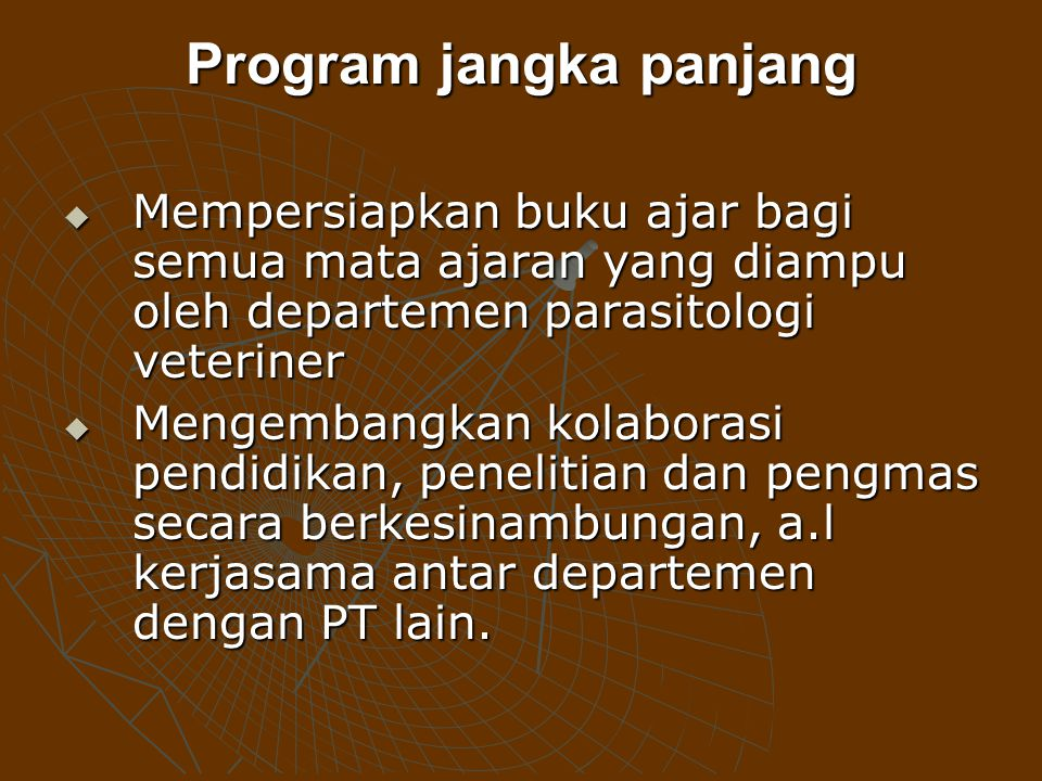 Program jangka panjang