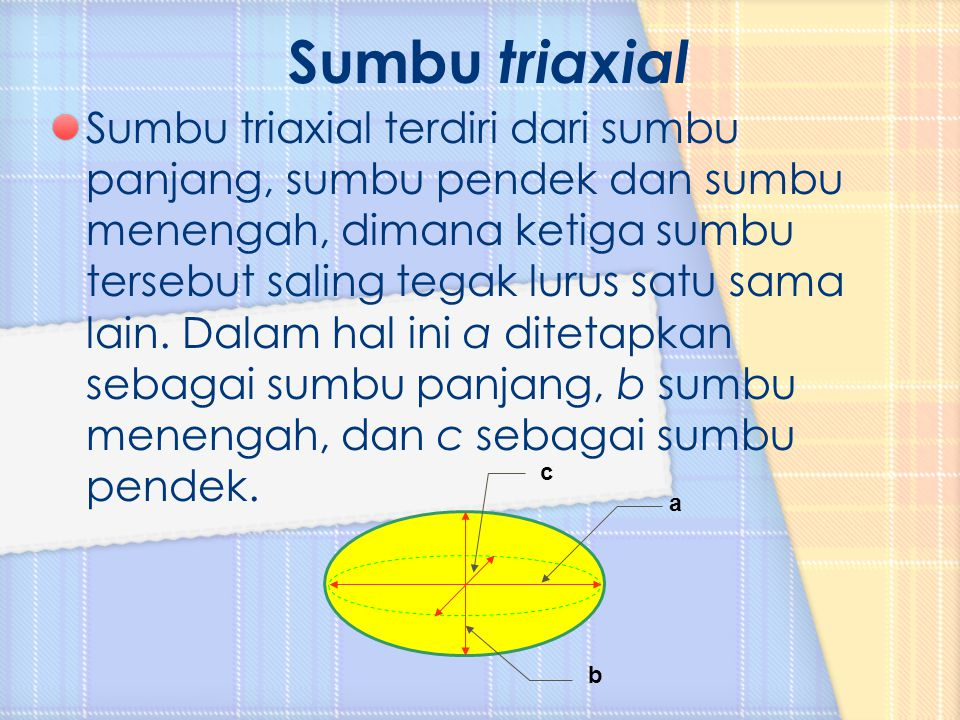 Sumbu triaxial