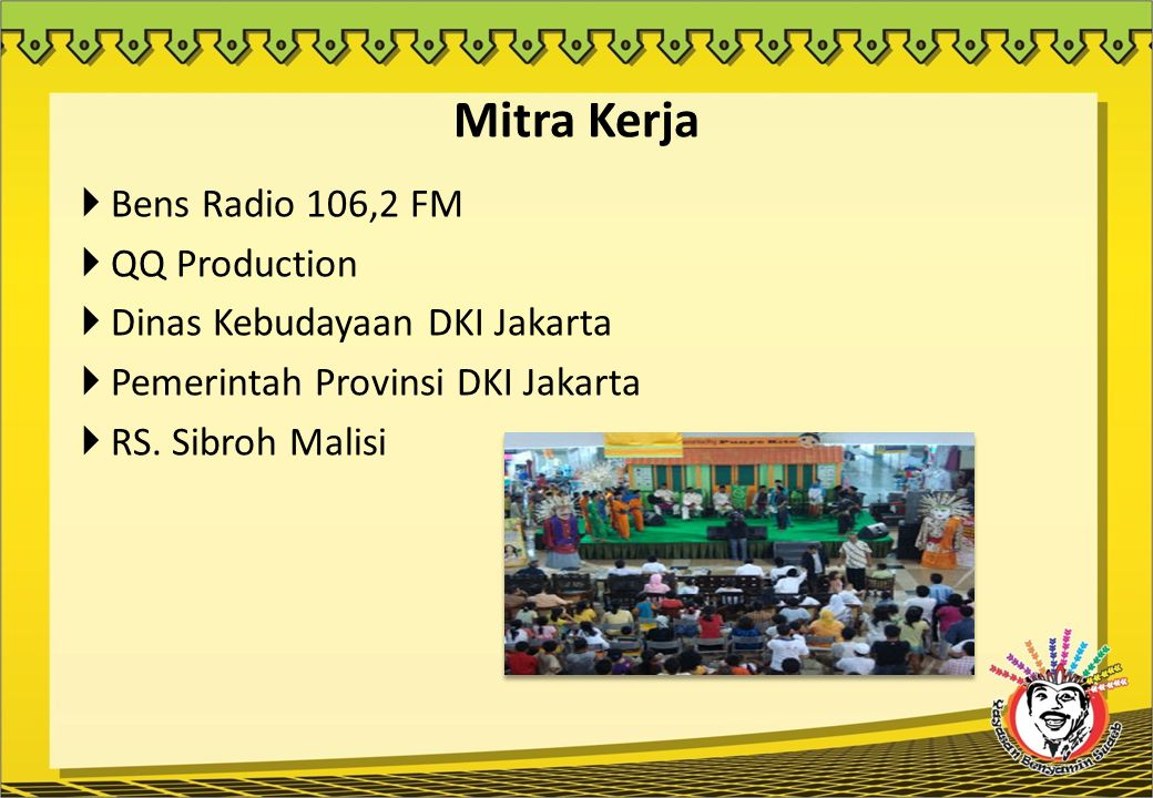 Mitra Kerja Bens Radio 106,2 FM QQ Production