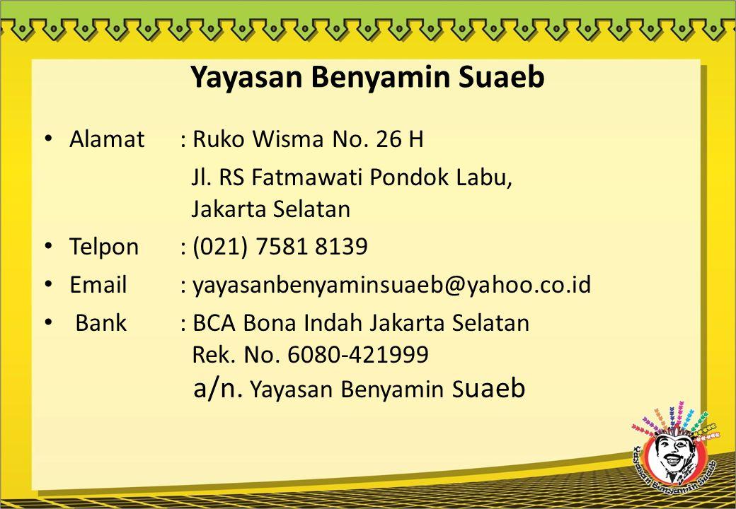 Yayasan Benyamin Suaeb