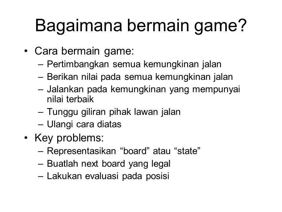 Bagaimana bermain game