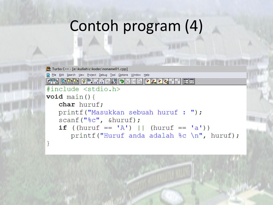 Contoh program (4)