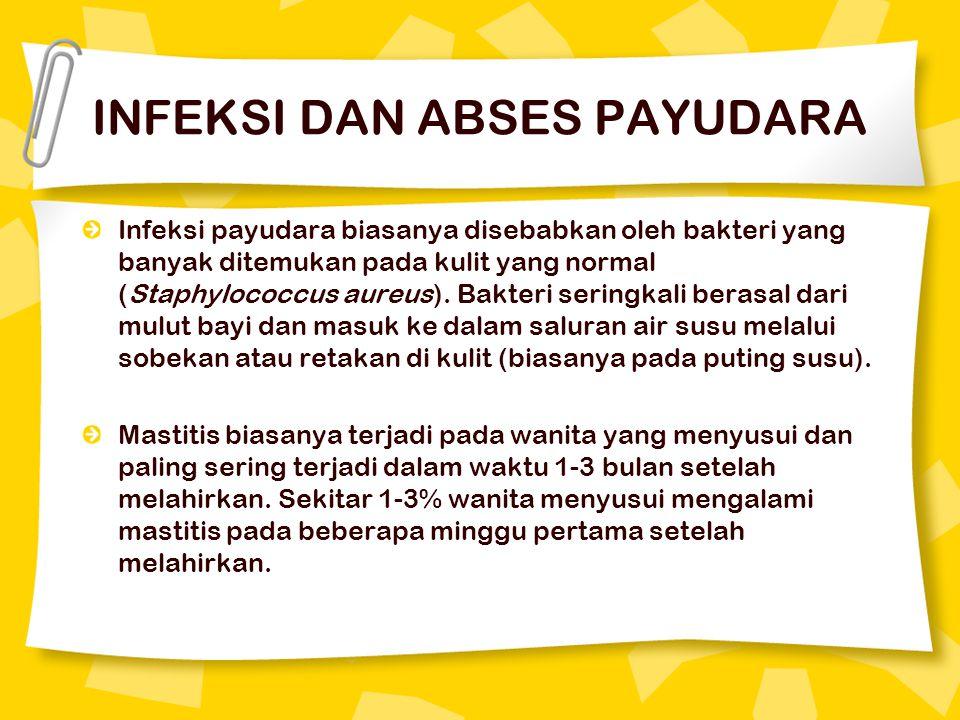 INFEKSI DAN ABSES PAYUDARA
