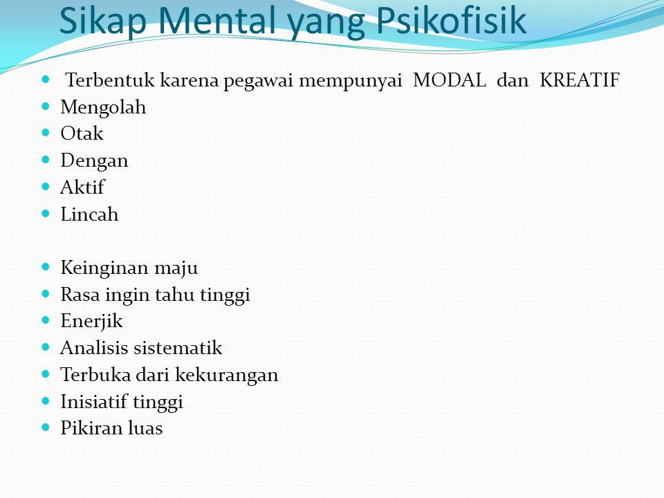 Sikap Mental yang Psikofisik