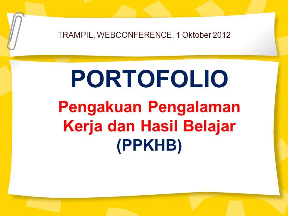 TRAMPIL, WEBCONFERENCE, 1 Oktober 2012