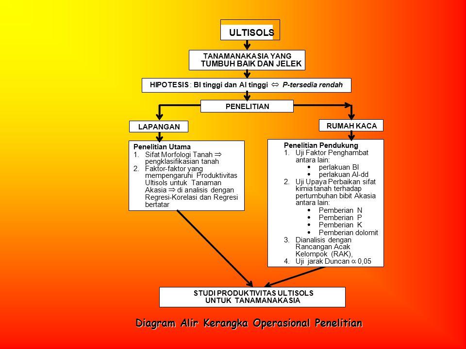 Diagram Alir Kerangka Operasional Penelitian