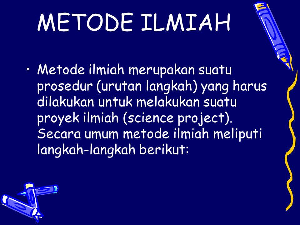 METODE ILMIAH
