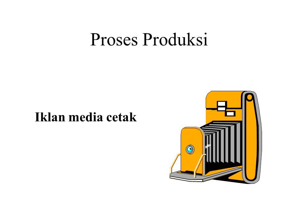 Proses Produksi Iklan media cetak