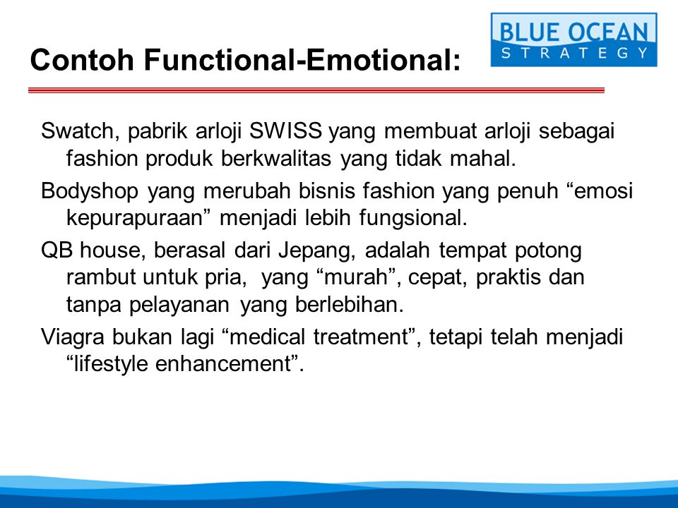Contoh Functional-Emotional: