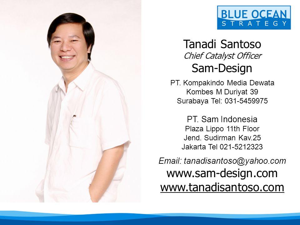 Tanadi Santoso Sam-Design www.sam-design.com www.tanadisantoso.com
