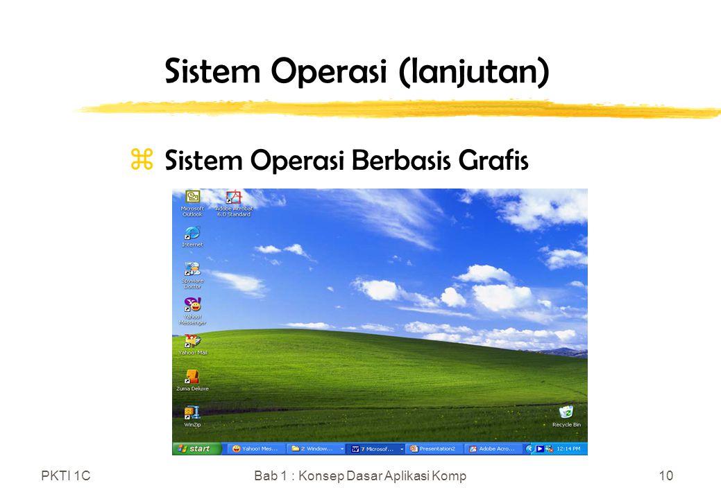 Sistem Operasi (lanjutan)