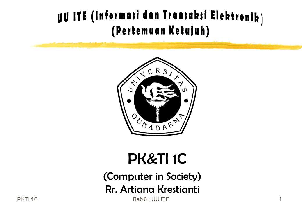 UU ITE (Informasi dan Transaksi Elektronik)