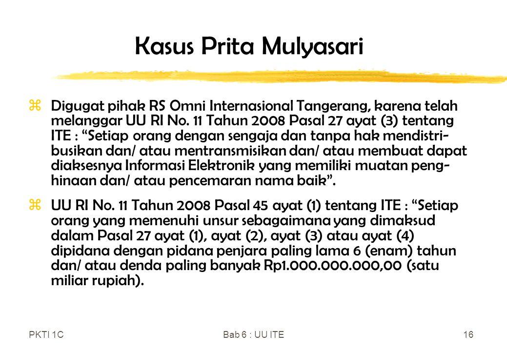 Kasus Prita Mulyasari
