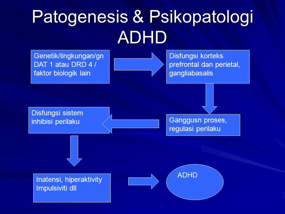 Patogenesis & Psikopatologi ADHD