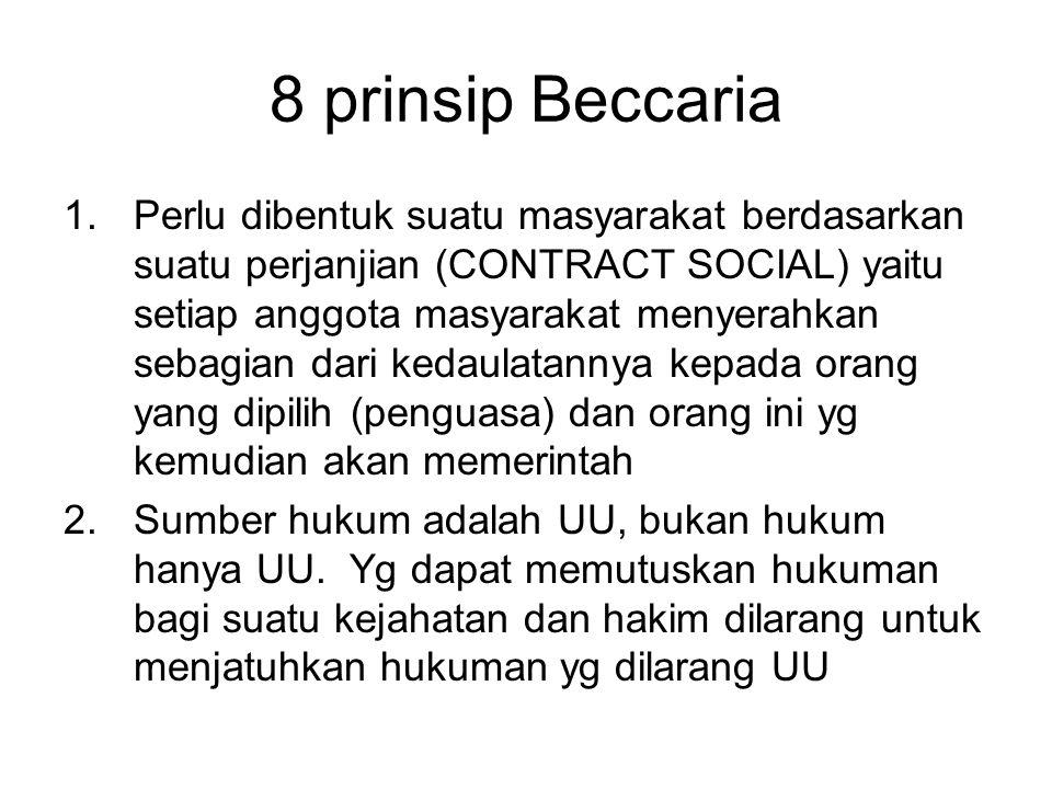 8 prinsip Beccaria