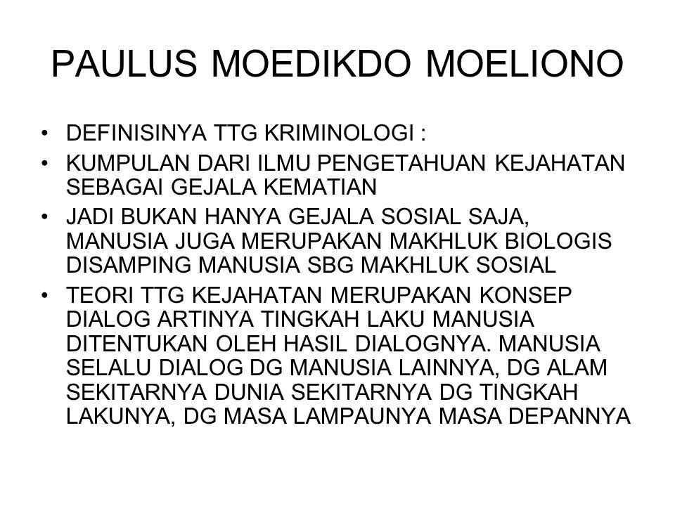 PAULUS MOEDIKDO MOELIONO