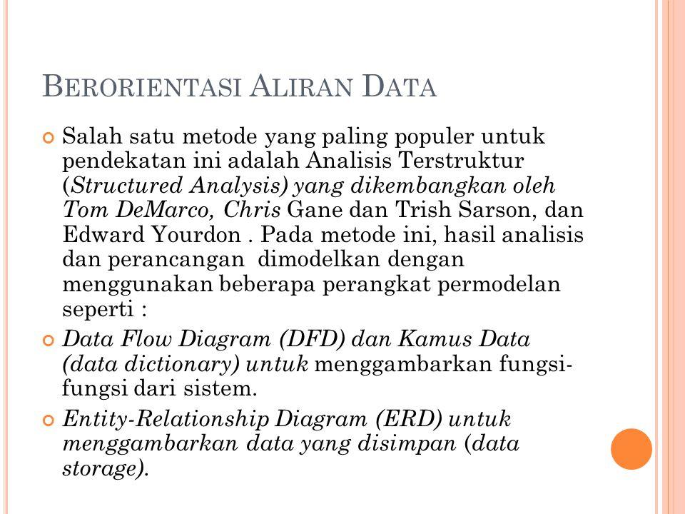 Berorientasi Aliran Data
