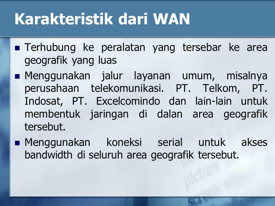 Karakteristik dari WAN