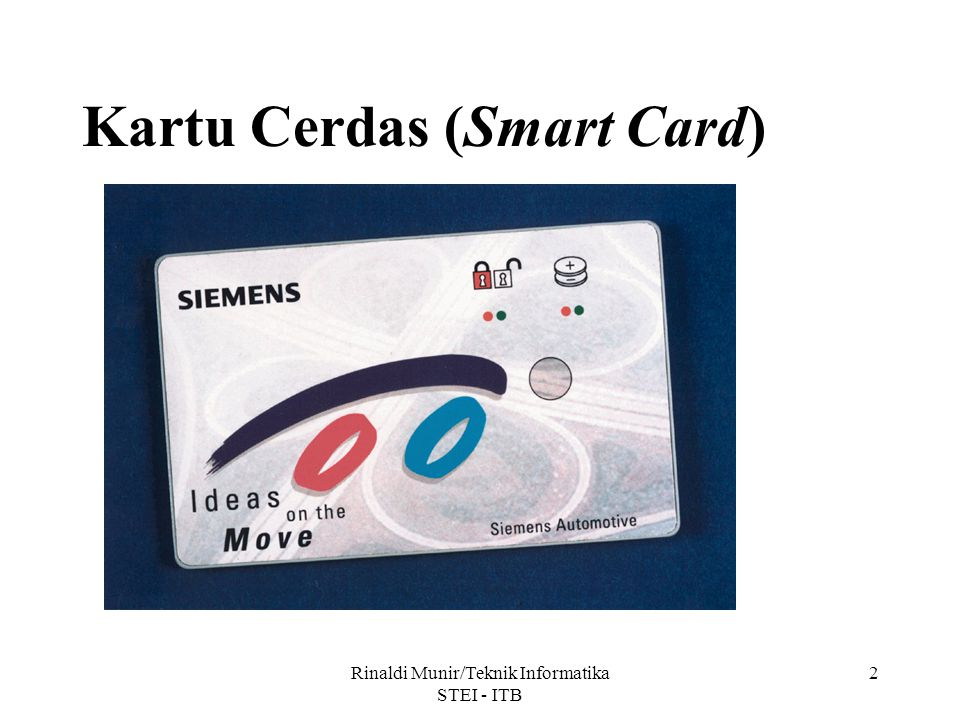 Kartu Cerdas (Smart Card)