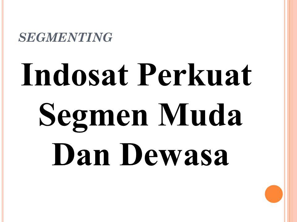 Indosat Perkuat Segmen Muda Dan Dewasa