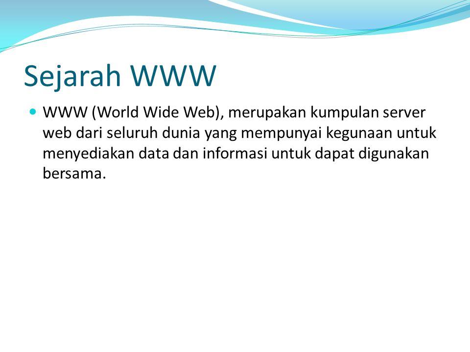 Sejarah WWW
