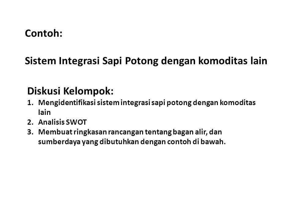 Sistem Integrasi Sapi Potong dengan komoditas lain