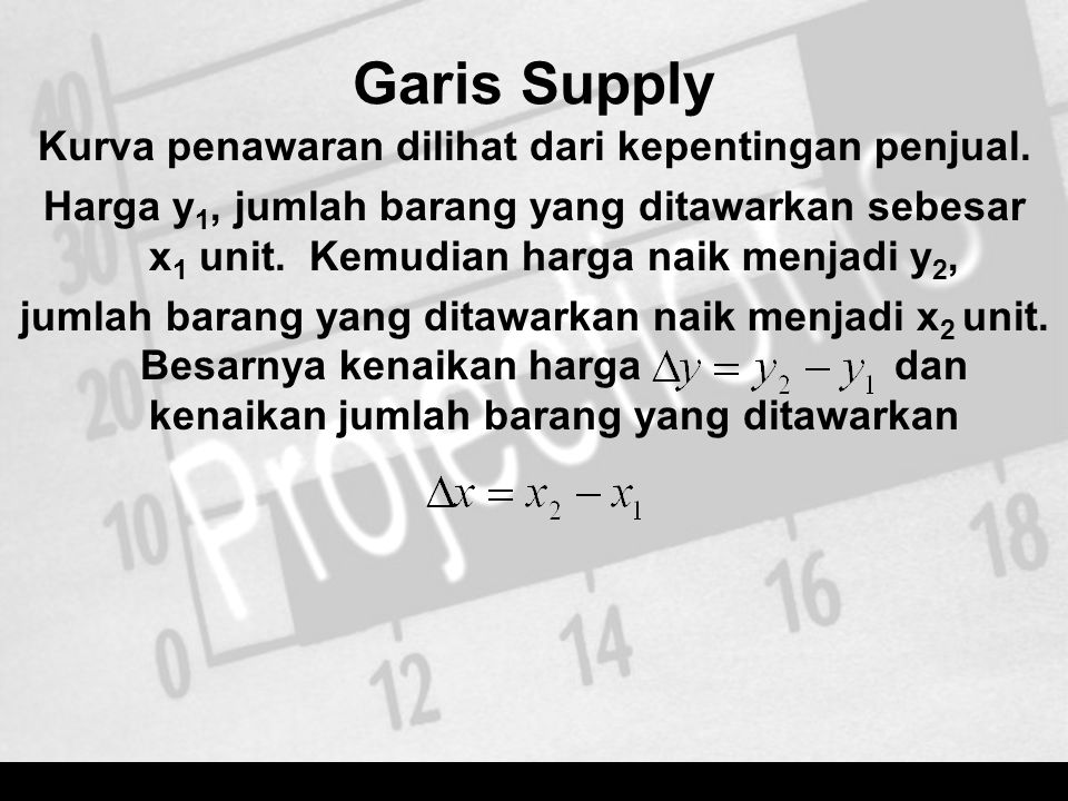 Garis Supply